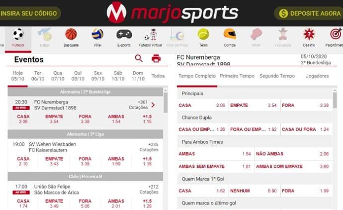 MarjoSports apostas